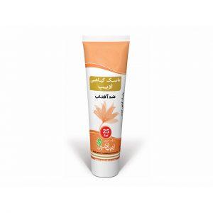کرم ماسک ضد آفتاب گیاهی ادیب حجم 25 میلی لیتر - فروشگاه اینترنتی تنگوان